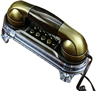 Classic Retro Wall-Mounted Telephone Set Old-Fashioned Home Wall-Mounted Cable Fixed Landline Retro Landline