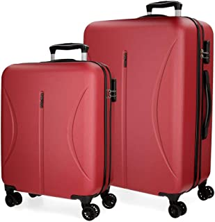 ROLL ROAD Women Luggage Set, Red (Rojo), Size:70cm
