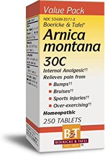 Boericke & Tafel Arnica Montana 30C Internal Analgesic Homeopathic (Nature's Way Brands)