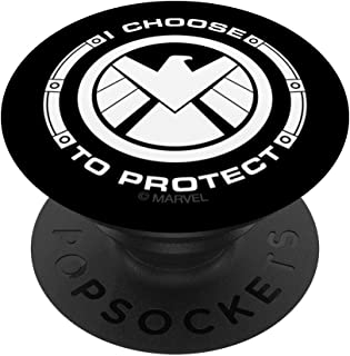 Marvel Agents of S.H.I.E.L.D. I Choose To Protect Eagle PopSockets Support et Grip pour Smartphones et Tablettes