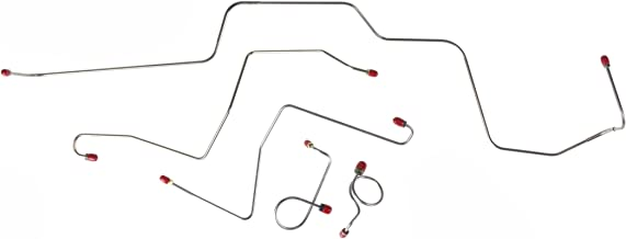The Right Stuff ZKT6702 Front Brake Line Kit, 5 Piece