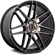 Curva C300 Custom Wheel - Black with Machined Face Rims - 22