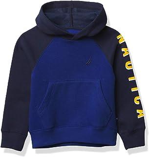 Nautica Boy's Fleece Full Zip Hoodie Sweater