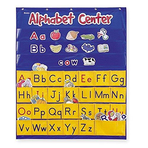 ラーニング リソーシズ(Learning Resources)  壁掛け アルファベット ポケットチャート LER2246