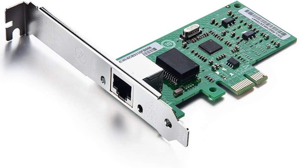 1G Gigabit CT Desktop PCI-e Network Intel online shop for NIC San Diego Mall Adapter 8257