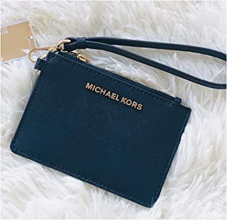 d90c6cedaba8 Michael Kors Jet Set Travel Coin Purse Wristlet Card Case Wallet