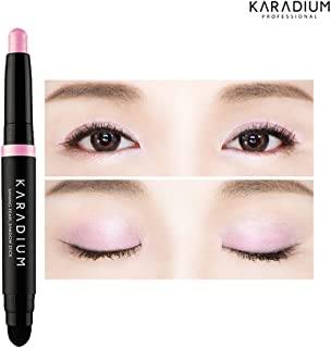 KARADIUM Shining Pearl Smudging Eye Shadow Stick 1.4g (2 Ice pink) - Waterproof Long Lasting Daily Eye Makeup Eye Shadow Stick, Creamy Texture, Easy to Draw, Hypoallergenic for Sensitive Eyes