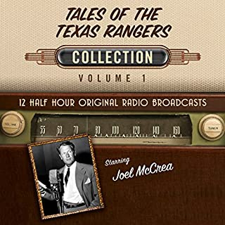 Tales of the Texas Rangers, Collection 1 audiobook cover art