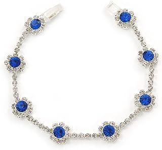 Or rose Bracelet ou bracelet de cheville Cowrie Taille r/églable