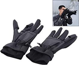 YOUZHIXUAN Accessory Outdoor Sports Wind-stopper Full Finger Winter Warm Photography Gloves  Size