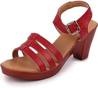 BATA Women's Block Heel Sandals