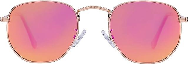 Stylle Medium Unisex Polygon Polarized Sunglasses