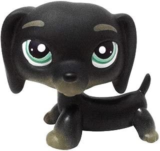 Meidexian888 Figure Toy Dog, LPS Dog Pet Shop Cream Toy Party Decorations Black