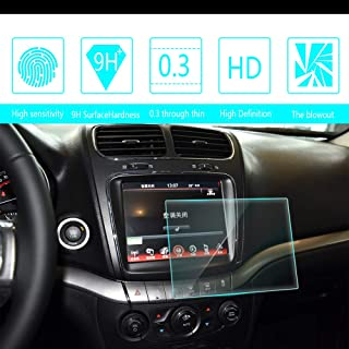 8X-SPEED for Dodge Journey Ram 8.4-Inch 167x124mm Car Navigation Screen Protector HD Clarity 9H Tempered Glass Anti-Scratch, in-Dash Media Touch Screen GPS Display Protective Film