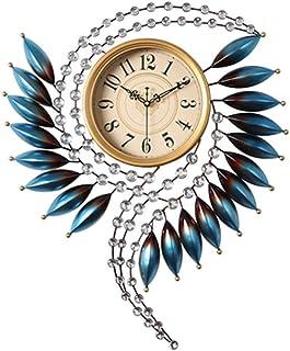 Reloj De Pared De Números El reloj del arte del reloj de pared silenciosa for no hacer tictac del reloj de cuarzo de calid...