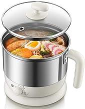 ZSY Mini Hot Pot électrique, électrique, poêle à Nouilles, Acier Inoxydable, Coffre-Fort, adapté aux dortoirs, Camping, Vo...