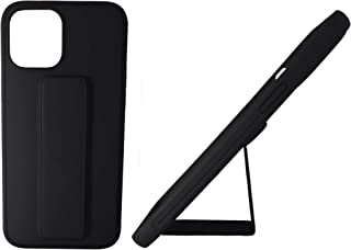 iPhone 12 Pro Max case Cover [Black], Black Color, Full Protection, Soft Silicone rubber, Drop Protection, Anti-fingerprin...