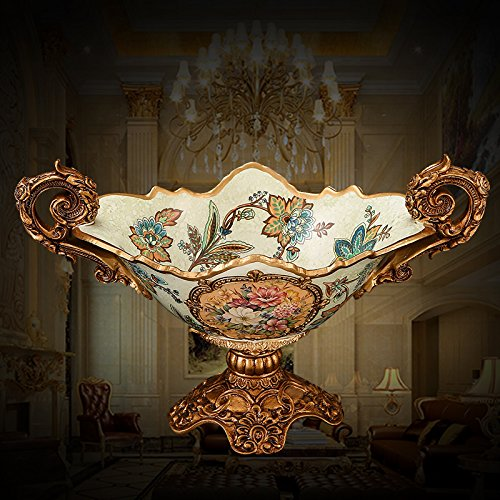 The Golden Apple Society High Class Italian Cut Clear Glass Serving Plate/salad/food Bowl,Limited Edition Serveware