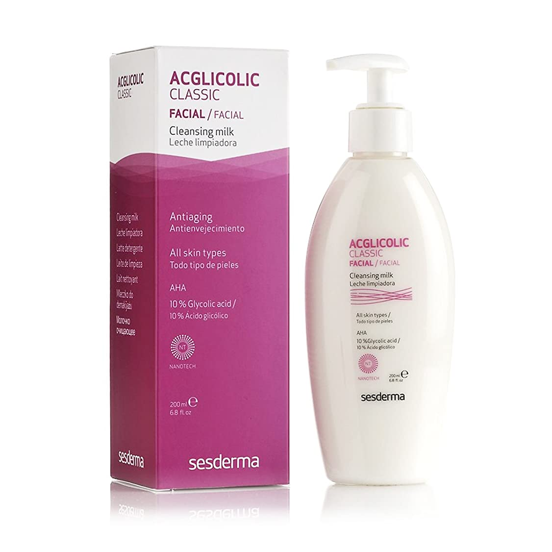 ビュッフェ土器社説Sesderma Acglicolic Classic Cleansing Milk 200ml [並行輸入品]