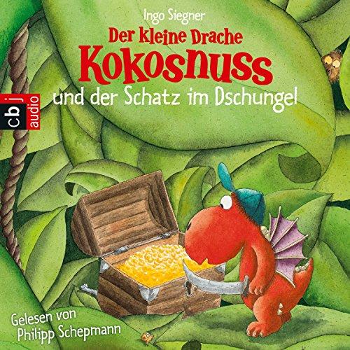 Der kleine Drache Kokosnuss und der Schatz im Dschungel (Der kleine Drache Kokosnuss 12) Titelbild