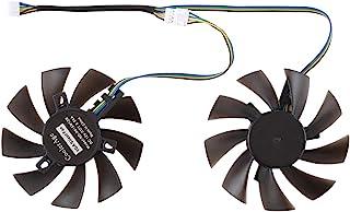 مراوح الكمبيوتر JHMJHM DC 12V 0.5A 4 Pin Female Desktop Cooler Fan CPU Cooling Fan ،Diameter: 8.5 مم، أزواج المكونات الداخلية
