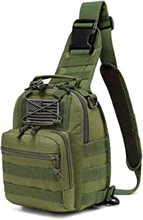 LUCKY RAY Tactical sling bag,single shoulder messenger bag military chest bag HikingTraveling