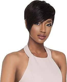 Outre Human Hair Wig Duby Wig Pixie edge (1B)