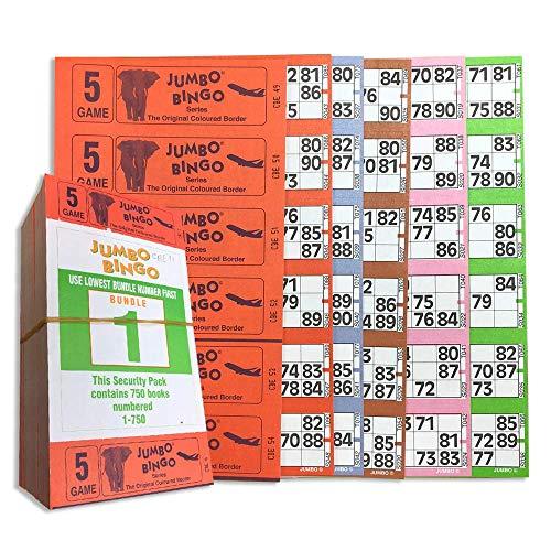 Fichas Bingo Grandes Marca Jumbo Bingo