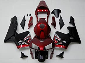 [NT Fairing] Fairing Kit Plastic Bodywork Fit for HONDA 2003 2004 CBR600RR Injection Mold ABS Red Motorcycle Bodyframe