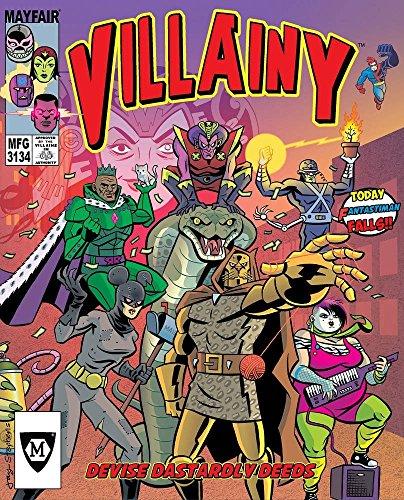 Villainy: Diabolical Doom-Dealing Doers of Dastardly Deeds Gioco da Tavolo [Importato da UK]