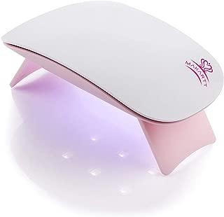 MAKARTT 6W LED UV Nail Dryer Curing Lamp 60S Timer USB Portable for Gel Nails Based Polishes
