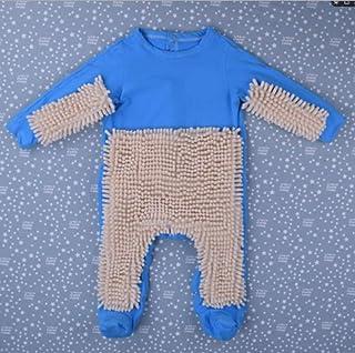 CHRRI Baby Romper, Kinder-MOP Jumpsuit Baumwollmantel Junge Mädchen Krabbeln Kostüm
