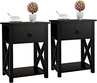 Best drawer end table Reviews