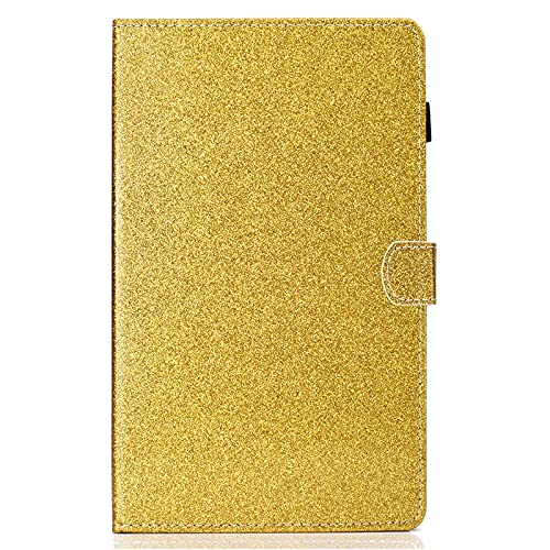 YYLKKB For Samsung Galaxy Tab A7 Case 2020 10.4 SM-T500 SM-T505 Tablet Bling Glitter Cover Fundas for Galaxy Tab A7 A 7 Cover-Yellow_Tab A7 10.4 SM-T500