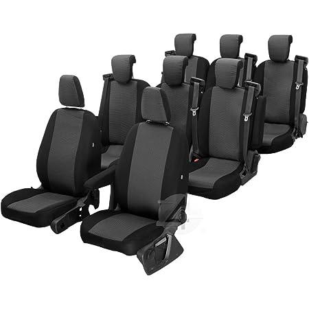 Passgenaue Sitzbezüge Hero Ideal Angepasst 8 Sitzer Fahrzeugspezifisch Polstermaterial 4d Z4l Dv Mv14 08m 96 Auto