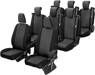 Passgenaue Sitzbezüge Hero ideal angepasst 8 Sitzer Fahrzeugspezifisch Polstermaterial | 4D Z4L DV TVT8M 07 63