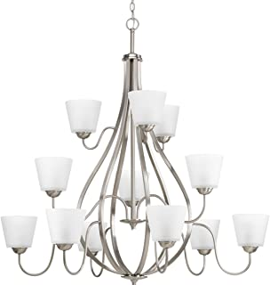 progress lighting torino collection brushed nickel