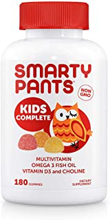 Smarty Pants Kids Complete Multi-Vitamin, 180 Gummies (1) by SMARTYPANTS