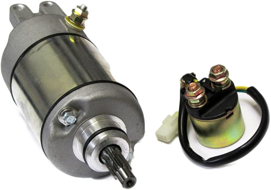 Caltric Starter Relay Solenoid Arlington Mall Compatible Fixed price for sale Trx450 Honda With Tr