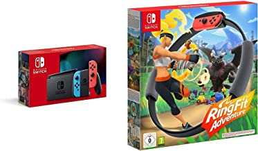 Product Image Nintendo Switch Neonrot/Neonblau + Ring Fit Adventure