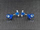 GPM Tamiya TT-02 Upgrade Parts Aluminium Front Adjustable Upper Arm - 1Pr Blue