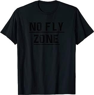 No Fly Zone Football Defense TShirt T-Shirt
