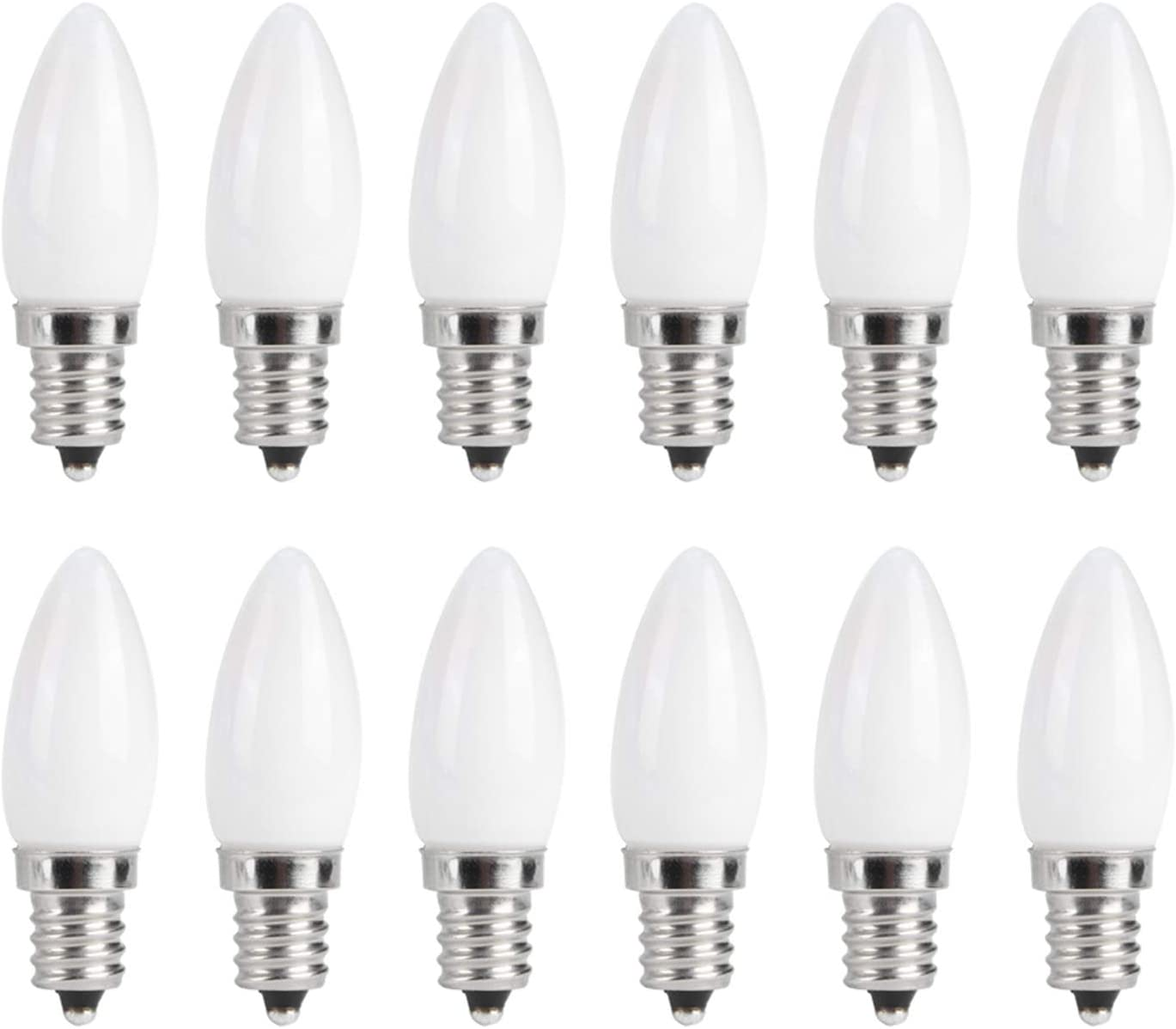 10PCS E12 LED Bulb Limited time for free shipping 1.5W Warm Lamp Las Vegas Mall White L Candelabra Chandelier