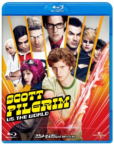Michael Cera-Scott Pilgrim Vs. The World [Edizione: Giappone] [Blu-Ray] [Import]
