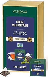 VAHDAM, High Mountain Oolong Tea Bags, 100 Count | 100% Detox Tea | Oolong Tea for Weight Loss | Detox Tea | Oolong Tea Ba...