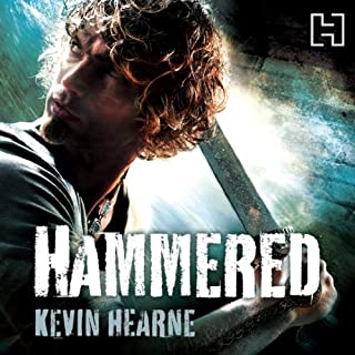 Hammered     The Iron Druid Chronicles, Book 3              By:                                                                                                                                 Kevin Hearne                               Narrated by:                                                                                                                                 Christopher Ragland                      Length: 10 hrs and 26 mins     355 ratings     Overall 4.5