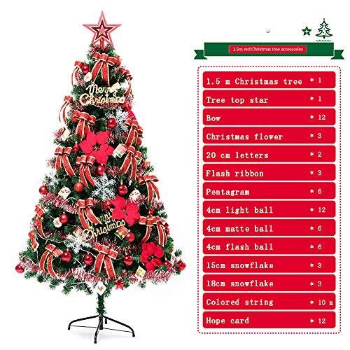 Neuf Blanc Premium Traditionnel Indoor artificielle de Noël Arbre de Noel 4,5,6,7,8FT