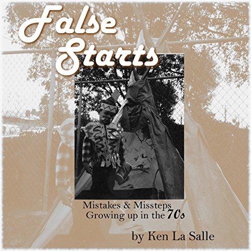 False Starts audiobook cover art