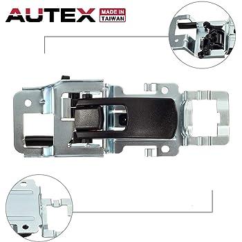Amazon Com Autex Interior Door Handle Front Rear Left Driver Side Compatible With Equinox 2007 2009 Door Handle Compatible With Torrent 2006 2009 Door Handle 25897973 15926297 Automotive