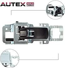 AUTEX Door Handle Interior Front/Rear Right Black Compatible with Chevrolet Equinox 2005-2009 Door Handle Replacement for Pontiac Torrent 2006-2009 Door Handle Passenger Side 15926298